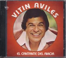 FANIA Mega RARE CD Vitin Aviles EL CANTANTE DEL AMOR dime que quieres de mi
