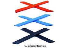 Galaxy Earsocks For Oakley Racing Jacket,Jawbone Black/Blue/Red 3 Pairs