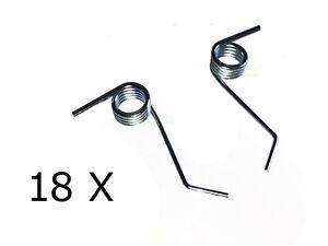 18X starke Feder für WOLF-Garten AMBITION V357B, V389B / MTD OPTIMA 35VO, 38VO