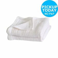 Unbranded Knitted 100% Cotton Nursery Blankets & Throws