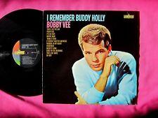 BOBBY VEE - I Remember Buddy Holly - Vinyl LP - Liberty 3336 - VG++ to Near Mint
