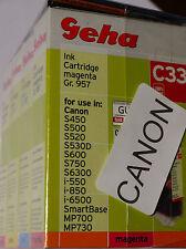 (PRL) LOTTO CARTUCCE 4 COLORS COMPATIBILE PER CANON INCHIOSTRO INK CARTRIDGE LOT