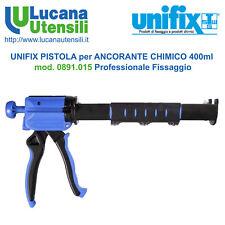 UNIFIX PISTOLA ANCORANTE CHIMICO tubo 400ml mod 0891.015 Professionale Fissaggio