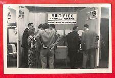 "CARTE POSTALE PHOTO "" STAND MOBELWERK RUDERSBERG MULTIPLEX CARMAUX "" 1960 ??"
