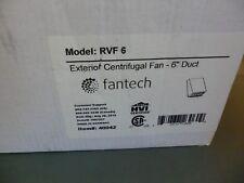 """Fantech RVF6 Exterior Wall Mount, 6"""" Centrifugal Duct Fan, 242 CFM"""