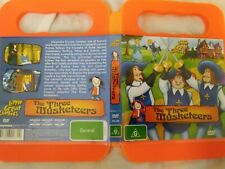 THE THREE MUSKETEERS -  GREAT CLASSICS DVD  -  ALEXANDRE DUMAS - CHILDRENS DVD
