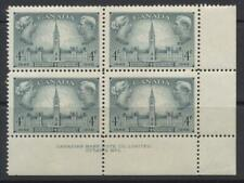 1948 Canada #277 ~ Responsible Government 1848-1948 ~ 4c Plate Block #2 MNH