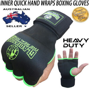 INNER First Gel Bandages MMA boxing Inner Quick Hand Wraps bar Gloves straps