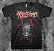 ASESINO 'Cross Face' T shirt (BRUJERIA, TRANSMETAL, CARCASS )