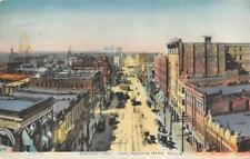 Oklahoma City, OK Broadway Street Scene ca 1910s Hand-Colored Vintage Postcard