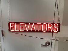 SpellBrite Ultra-Bright ELEVATOR Sign (Neon look, LED performance)