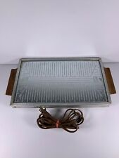 Salton Hotray Vintage 1960s Hotray Model H-110 Automatic Food Warmer Tested Work