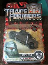 Transformers: Revenge of the Fallen; Brawn toy, boxed - unopened, vgc+