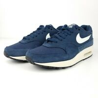 Nike Air Max 1 Men's Running Shoes Blue White AH8145 401 NEW Multiple Sizes