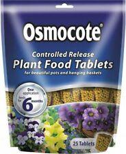Osmocote Controlled Release Plant Food Tablets For Pots & Hanging Baskets 25pk