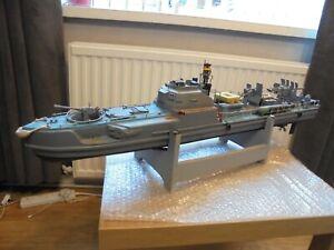 "Vintage ""S-100 Schnellboot WW11 German Torpedo Boat"" R/C Model Boat. Restoration"