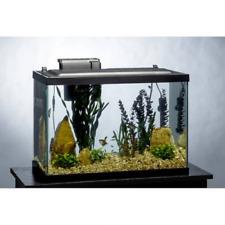 Tetra 20 Gallon Aquarium Kit Tank w/ Filter, Heater, Daylight LED Light / Plants