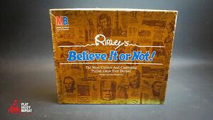 Ripley's Glauben It oder Nicht Brettspiel Vintage 1984 Schnell