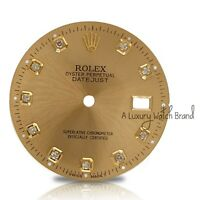 For Rolex Datejust Mens 36mm Champagne Diamond Dial for Mens 16013 16233 Watch