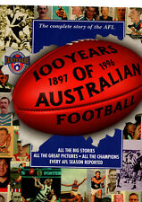 100 YEARS OF AUSTRALIAN FOOTBALL : COMPLETE STORY OF THE AFL    ez