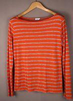 Filippa K Damen Freizeit Top Hemd Pullover Größe M ASZ605