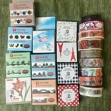 Washi Tape Lot Of 10 whole roll Set Washitapes For Planner Scrapbook NEW random