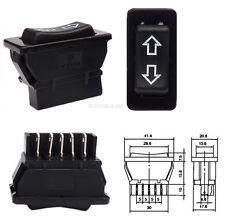 12V Schalter für elektrische Fensterheber Auto KFZ Taster Wippschalter #12