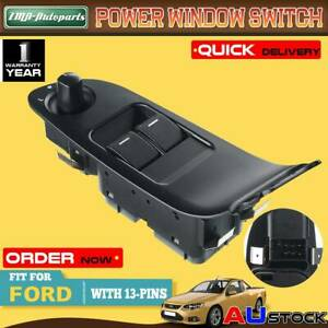 Power Master Window Switch for Ford Falcon FG 2008-2011 Ute 2 Buttons 13 Pins
