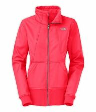 NEW The North Face Women's Full Zip Jessie Jacket MEDIUM Rocket Red $130.00
