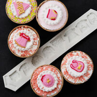 3D Baby Showr Silicone Fondant Sugarcraft Mould Icing Cake Decor Chocolate Mold