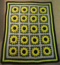 Sunflower Afghan - Handmade