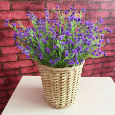 Fancy Artificial Fake Silk Flowers Gypsophila Home Party Wedding Bouquet Decor Purple