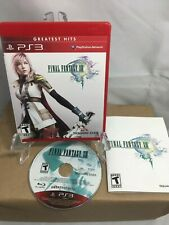 PS3 Final Fantasy XIII (Greatest Hits) Complete with Manual Tested - Ships Fast