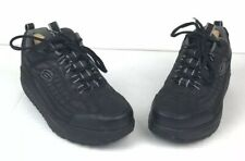 Skechers Shape Ups Mens Size 10 Black Leather Toning Walking Shoes SN 50875