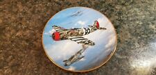 The Hamilton Collection P-47 Thunderbolt Ww Ii Plate Collection (640)