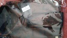 MEN'S LONG SLEEVE SHIRT + TIE + 2 cuff links in brown - Free UK Mainland Postage