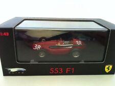 Hot Wheels Elite FERRARI 553 SQUALO HAWTHORN 1ST SPAIN N5586 #38 New