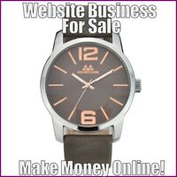 CLASSIC WATCHES Website Earn $65.49 A SALE|FREE Domain|FREE Hosting|FREE Traffic