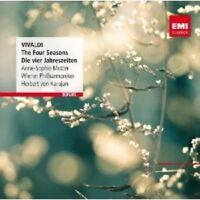 """ANNE-SOPHIE MUTTER/HERBERT VON KARAJAN """"DIE VIER JAHRESZEITEN""""  CD NEU"""