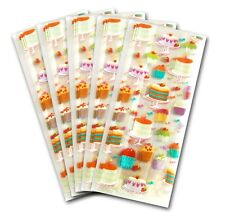 50 X Cupcake Cake Clear Cellophane Bags Candy Treat Party Gift Sweet Cello Bag