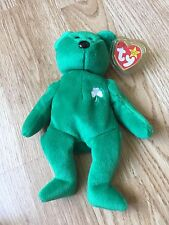 Original Beanie Baby Erin with tag Error Rare