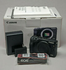 Canon EOS M3 24.2 MP Digital Camera Black (Body Only)