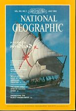 NATIONAL GEOGRAPHIC MAGAZINE JULY 1982 - Sinbad - Carrara - Willa Cather