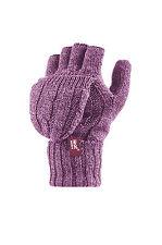 1 Pair Ladies Genuine Thermal Warm Long Heat Holders Socks Size 4 - 8 UK Black