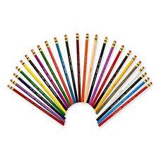 Prismacolor Col-Erase Erasable Colored Pencils, Set Of 24 Assorted Colors (2051