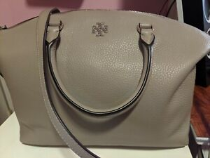 Tory Burch Grey Slouchy Tote