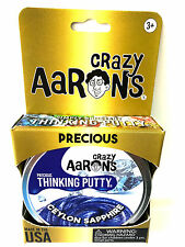 Ceylon Sapphire Blue Precious Gems Crazy Aaron's Thinking Putty tin New 1.6 Oz