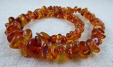 Ancien collier en ambre 43g Fermoir en ambre Formes et teintes différentes