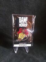 BAM! Horror Vol 5 Box 6 Saw: Spiral Collectible Enamal Pin Limited Chris Rock