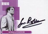 Avengers TV Definitive 1 Jon Rollason as Doctor Martin King Autograph Card A4